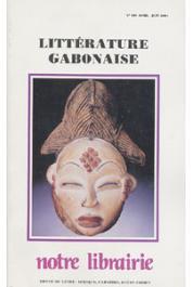 Notre Librairie - 105 - Littérature gabonaise