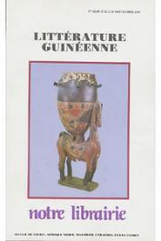 Notre Librairie - 088/089  Littérature guinéenne