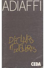 ADIAFFI Jean-Marie - D'éclairs et de foudres