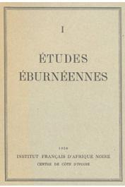 Etudes Eburnéennes - 01, ROUGERIE Gabriel - Le Port d'Abidjan. Le problème des débouchés maritimes de la Côte d'Ivoire. Sa solution lagunaire. (Extrait du BIFAN, t. XII, 1950, n° 3)