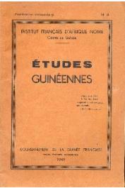 Etudes Guinéennes - 1949 - n° 3 - Le Ouali de Goumba avec pièces annexes n° 1 à 4