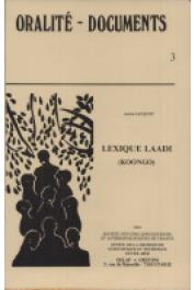 JACQUOT A. - Lexique laadi (koongo)