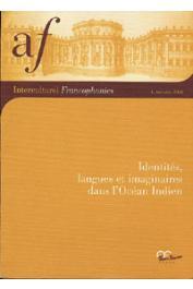 Interculturel Francophonies - 04 - Identités, langues et imaginaires dans l'Océan Indien