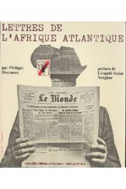 DECRAENE Philippe - Lettres de l'Afrique atlantique
