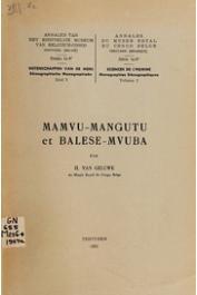 VAN GELUWE Henriette - Mamvu, Mangutu et Balese-Mvuba