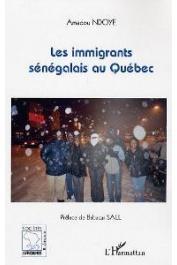 NDOYE Amadou - Les immigrants sénégalais au Québec