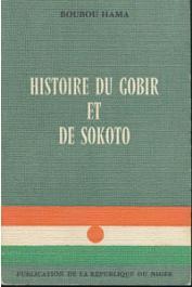 BOUBOU HAMA - Histoire du Gobir et de Sokoto