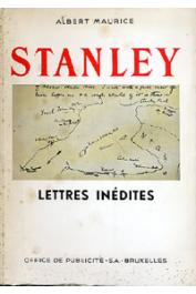 MAURICE Albert - Stanley. Lettres inédites