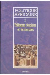 Politique africaine - 021 - Politiques foncières et territoriales