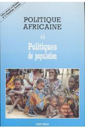 Politique africaine - 044 - Politiques de population