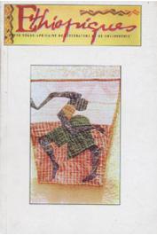 ETHIOPIQUES n° 68 - Revue négro-africaine de littérature et de philosophie - La beauté Seereer / Les folles sans folie dans les chants de mampa (Cameroun) / La nouvelle congolaise de langue française, etc…