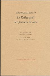 KAGAME Alexis - Indyohesha-Birayi ou le Relève-goût des pommes de terre, un poème d'Alexis Kagamé, édité par Anthère Nzabatsinda