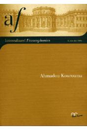 Interculturel Francophonies - 06, BLACHERE Jean-Claude (Sous la direction de) - Ahmadou Kourouma