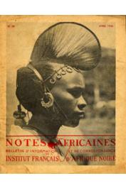 Notes Africaines - 030