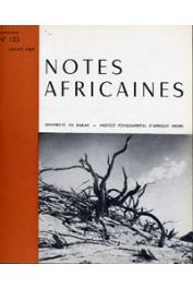 Notes Africaines - 123