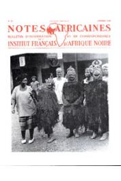 Notes Africaines - 081