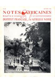 Notes Africaines - 040