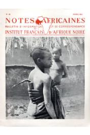 Notes Africaines - 058