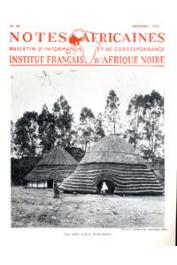 Notes Africaines - 060