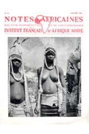 Notes Africaines - 055