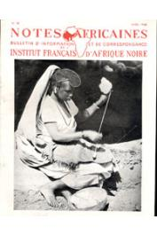 Notes Africaines - 038