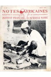 Notes Africaines - 035