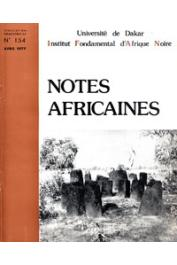Notes Africaines - 154