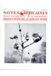 Notes Africaines - 089