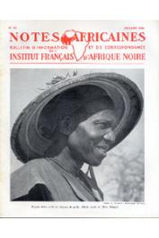 Notes Africaines - 063