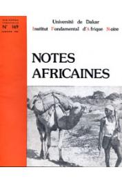 Notes Africaines - 169