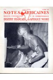 Notes Africaines - 088