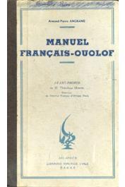 ANGRAND Armand-Pierre - Manuel français-ouolof