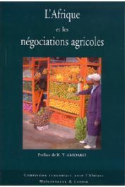 Commission Economique pour l'Afrique - L'Afrique et les négociations agricoles