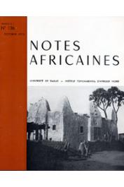 Notes Africaines - 136