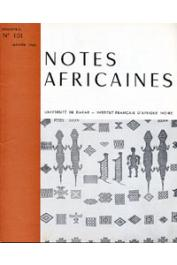Notes Africaines - 101