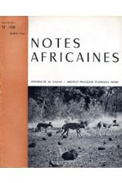 Notes Africaines - 106