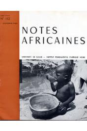 Notes Africaines - 112