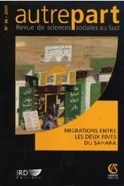 AUTREPART - 36 - Migrations entre les deux rives du Sahara