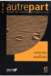 AUTREPART - 34 - Variations & hommages