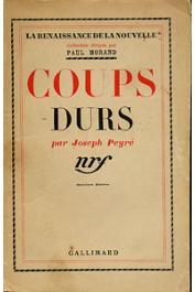 PEYRE Joseph - Coups durs