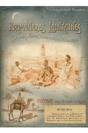 PAULHIAC H. (Lieutenant) - Promenades lointaines. Sahara, Niger, Tombouctou, Touareg