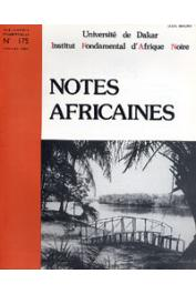 Notes Africaines - 175