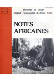 Notes Africaines - 178