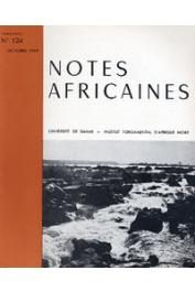Notes Africaines - 124
