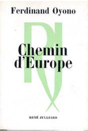 OYONO Ferdinand - Chemin d'Europe