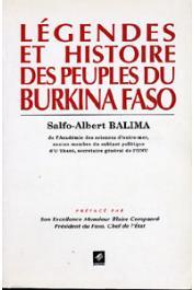 BALIMA Salfo Albert - Légendes et histoire des peuples du Burkina Faso