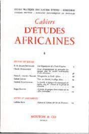 Cahiers d'études africaines - 004