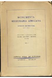 BRASIO Padre Antonio (coligida e anotada por) - Monumenta Missionaria Africana. Africa Ocidental. Primera Série. Volumes I à XV
