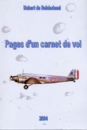 BOISBOISSEL Hubert de - Pages d'un carnet de vol