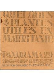 Anonyme - Quelques plantes utiles en Mauritanie